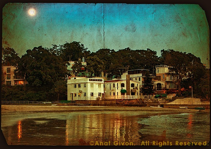 Moon Rises Over Cheung Sha Beach