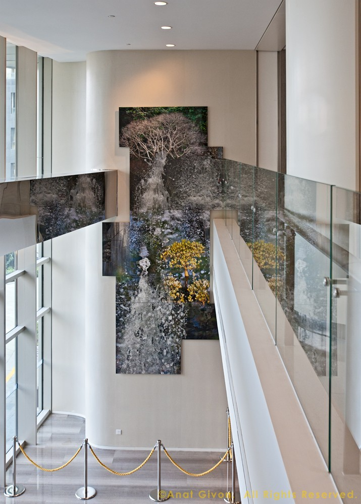 """""""Water & Fluidity"""" at 'The Place' Office Tower, Shanghai"""