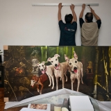 Artwork Installation - Private Collection