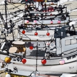 """Fishing Boats, St. Ives"" - Dot Cod Seafood Restaurant, HK"