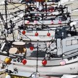 """Fishing Boats, St. Ives"" - Dot Cod Seafood Restaurant, HK"