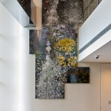"""Water & Fluidity"" at 'The Place' Office Tower, Shanghai. Commissioned through Galerie Ora-Ora Hong Kong"