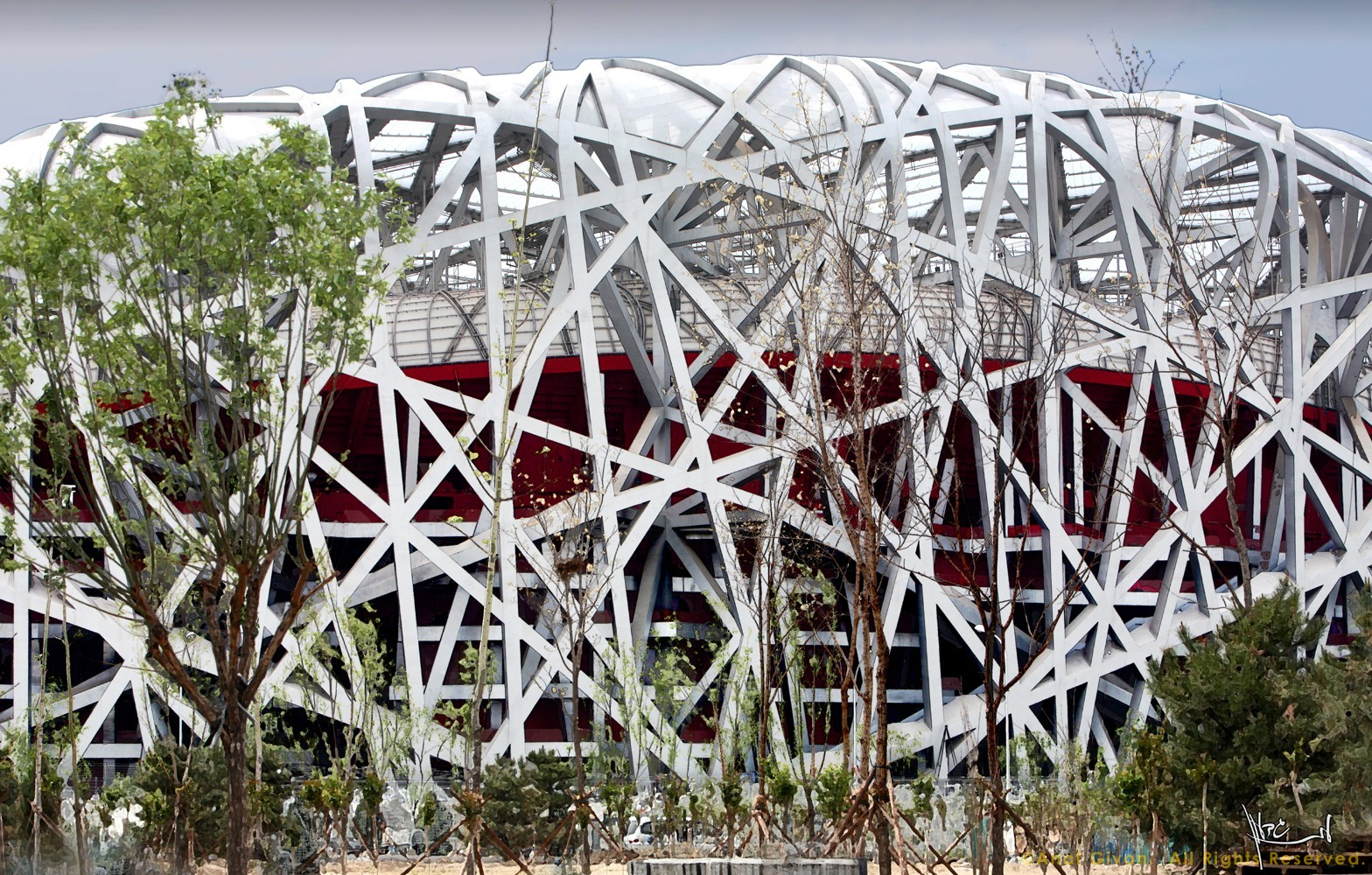 Bird's Nest Stadium Beijing 2008