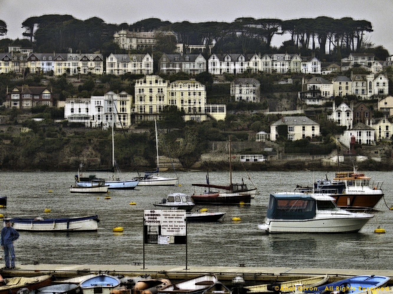 Englanish Seaside, Fowey Hotel Cornwall