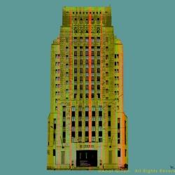 Bank Of China Old Building -Green