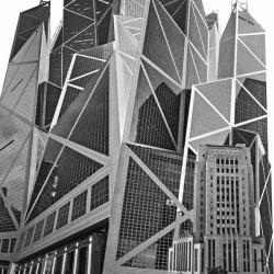 Bank Of China Old & New, HK