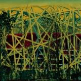 Bird's Nest Stadium yellow, Beijing 2008