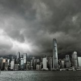 Clouds Over HK Harbour