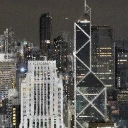Bank Of China Old & New 2, HK